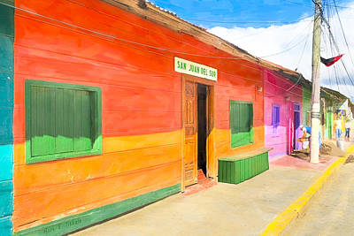 Photograph - Vibrant Tropical Colors Of Nicaragua by Mark E Tisdale