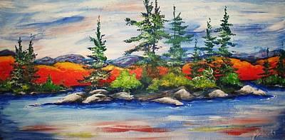 Vibrant Vista Art Print by Jill Alexander