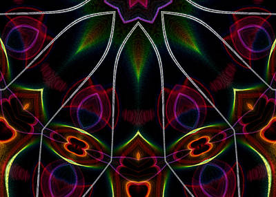 Digital Art - Vibrational Tendencies by Owlspook
