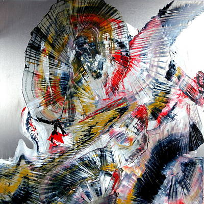 Painting - Vibrations by David Hatton