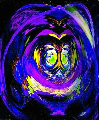 Digital Art - Vibratory Energy by Phoenix De Vries