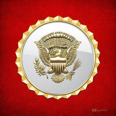 Vice Presidential Service Badge Original by Serge Averbukh