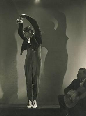 Dance Photograph - Vicente Escudero Dancing by Edward Steichen