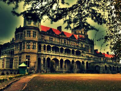 Viceregal Lodge Shimla Print by Salman Ravish