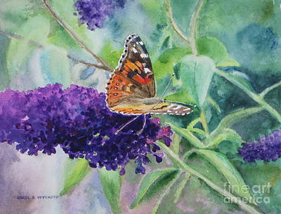 Painting - Monarch Butterfly by Karol Wyckoff