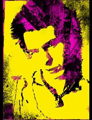 Sid Vicious Digital Art - Vicious by Jezebel X