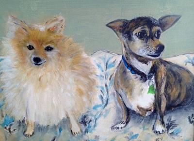 Vick's Dogs Art Print