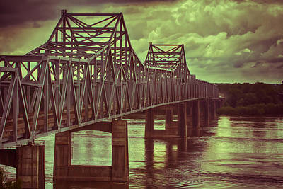 Photograph - Vicksburg Over The Mississippi by Nicholas Evans