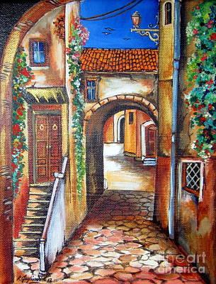 Vicolo Trastevere Art Print