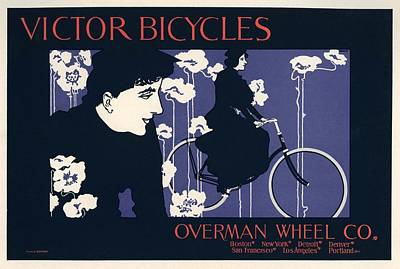 Victor Bicycles Art Print by Gianfranco Weiss