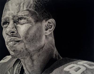 Drawing - Victor Cruz Drawing by Angelee Borrero