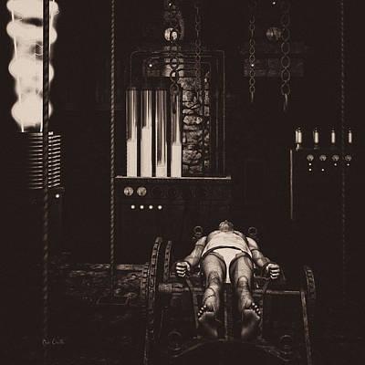 Frankenstein Photograph - Victor Frankenstein's Lab by Bob Orsillo