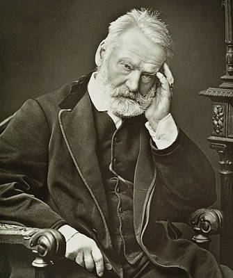 Hunchback Photograph - Victor Hugo by French Photographer