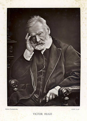 Photograph - Victor Hugo by Mary Evans