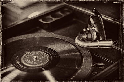 Photograph - Victor Victrola by Andy Crawford