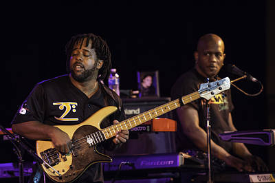 Victor Wooten Photograph - Victor Wooten Band by David Simchock