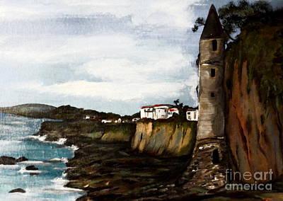 Painting - Victoria Beach Laguna Beach by Valarie Pacheco