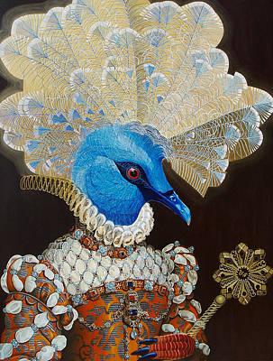 Crown Victoria Painting - Victoria Crown by Vlasta Smola