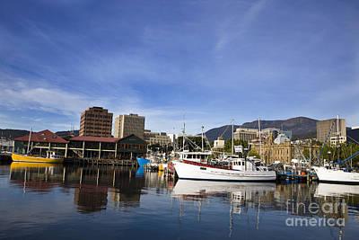 Superhero Ice Pops - Victoria Dock Hobart Tasmania by Jason O Watson
