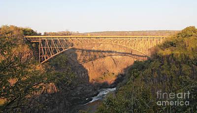 Bridge Photograph - Victoria Falls Bridge by Liz Leyden