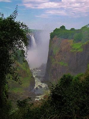 Zimbabwe Photograph - Victoria Falls by Charles Ray