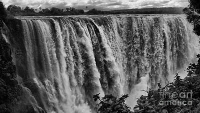 Photograph - Victoria Falls by Mareko Marciniak