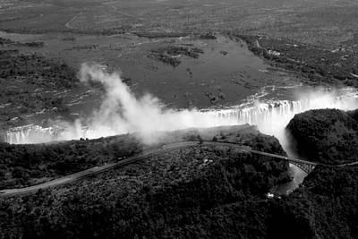Photograph - Victoria Falls Panorama by Aidan Moran
