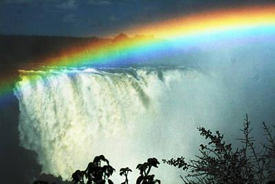 Victoria Falls Art Print