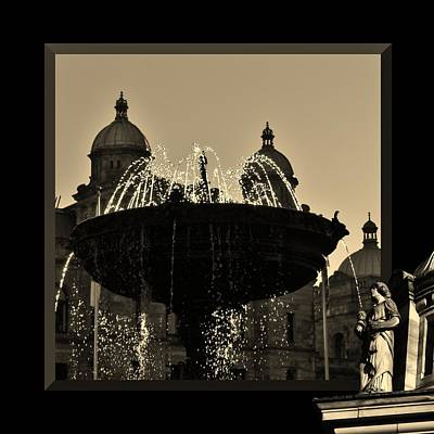 Photograph - Victoria Fountain by Barbara St Jean