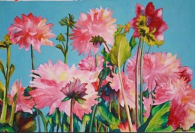 Painting - Victoria Garden by Diane Ziemski