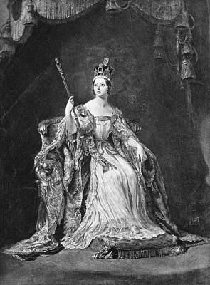 Crown Victoria Painting - Victoria Of England(1819-1901) by Granger
