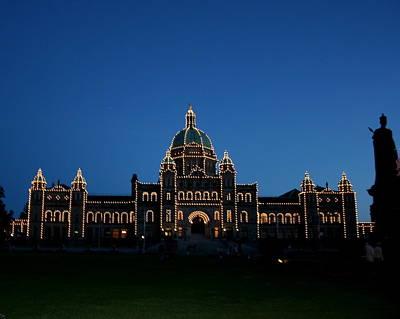 Photograph - Victoria Parliament Building by Betty-Anne McDonald