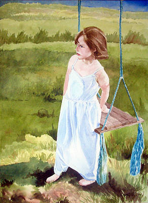 Painting - Victoria Swing by Kathryn Donatelli