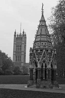 Art Print featuring the photograph Victoria Tower Garden by Maj Seda