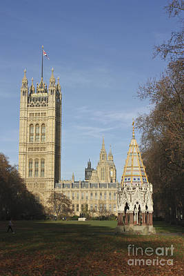 Photograph - Victoria Tower Gardens Westminster London by Terri Waters