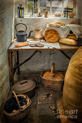 Baskets Digital Art - Victorian Bakers by Adrian Evans