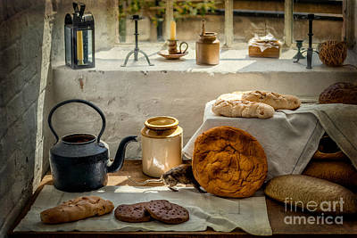 Elastic Photograph - Victorian Bakery by Adrian Evans