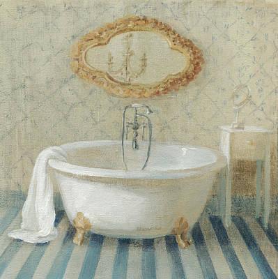 Mirror Painting - Victorian Bath II by Danhui Nai