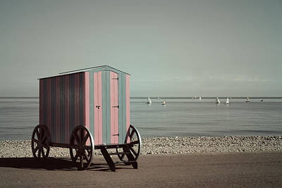 Wall Art - Photograph - Victorian Bathing Machine by Mal Bray