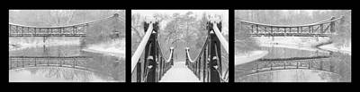 Photograph - Victorian Bridge Angles by Scott Rackers