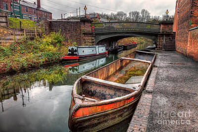 Victorian Canal Art Print by Adrian Evans