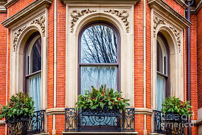 Photograph - Victorian Christmas Windowboxes by Susan Cole Kelly