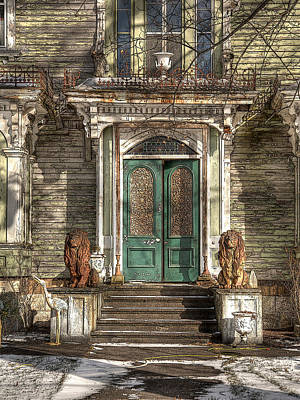Victorian Entry Art Print