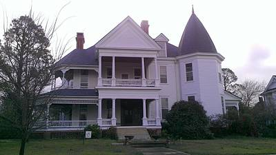 Photograph - Victorian Home 2 by Lew Davis