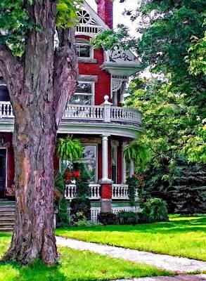 Classic Christmas Movies - Victorian Home by Steve Harrington