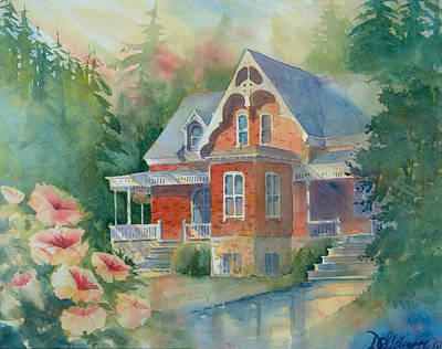 Painting - Victorian House by David Gilmore