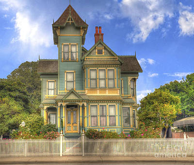 Photograph - Victorian House by Mathias