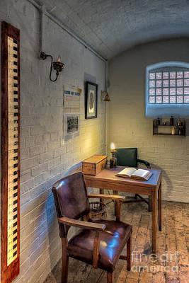 Prisoner Photograph - Victorian Jail Office by Adrian Evans