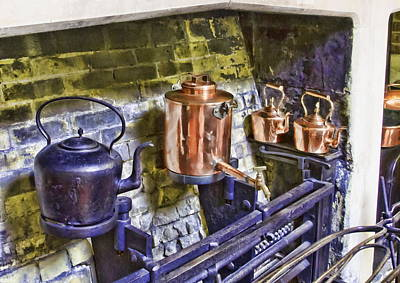 Photograph - Victorian Kitchen by Paul Gulliver