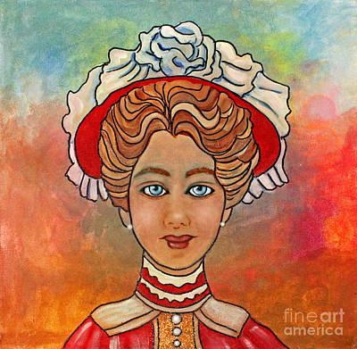 Victorian Lady-a Art Print